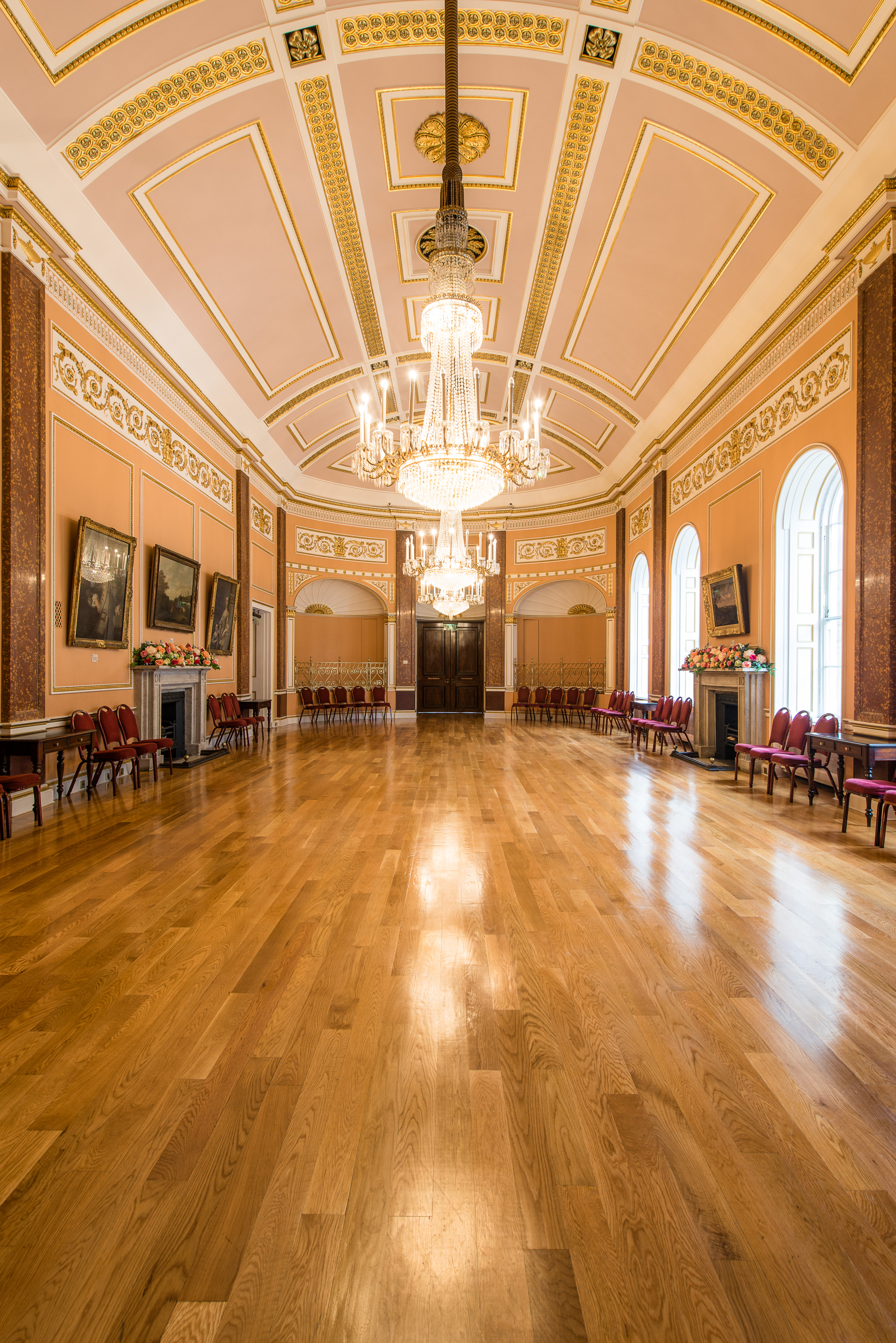The Small Ballroom - Liverpool Town Hall
