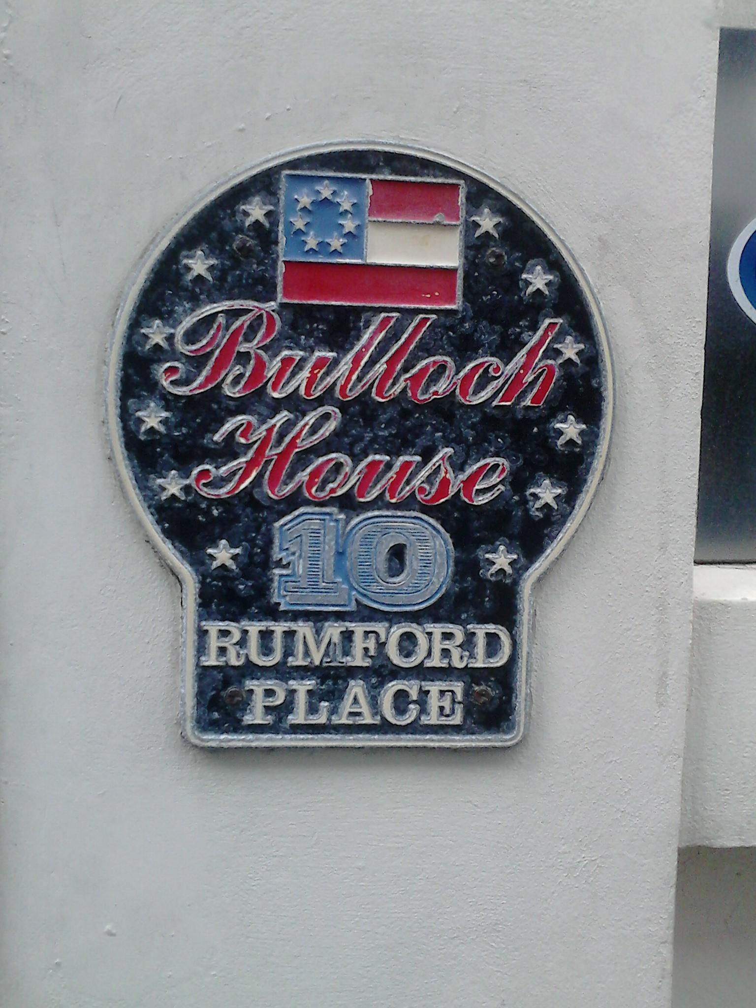 The Bulloch home, 10 Rumford Place