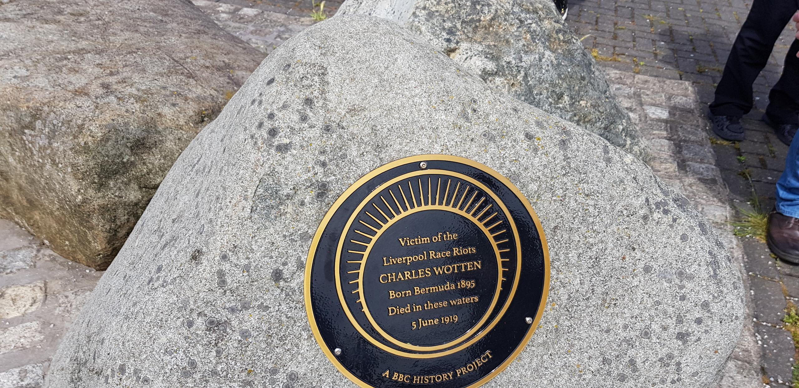 Charles Wotten memorial